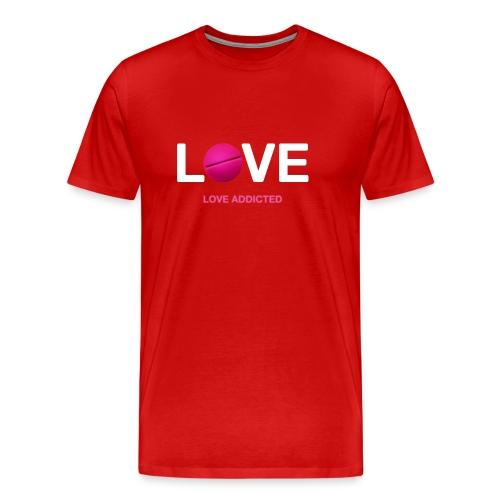 Love Addicted - Men's Premium T-Shirt