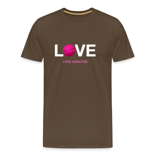 Love Addicted - Men's Premium T-Shirt