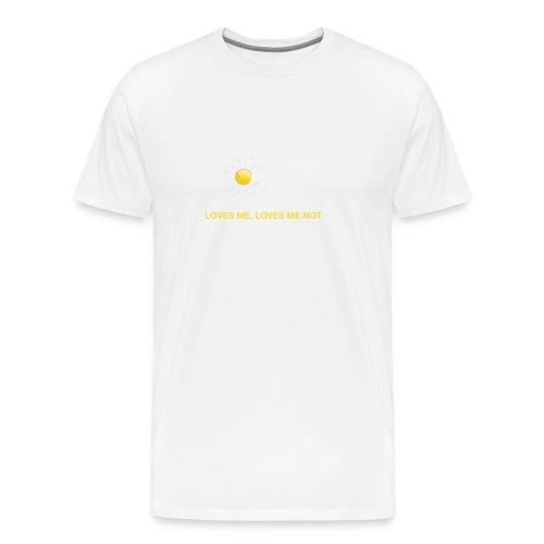 Loves me Loves me not - Men's Premium T-Shirt