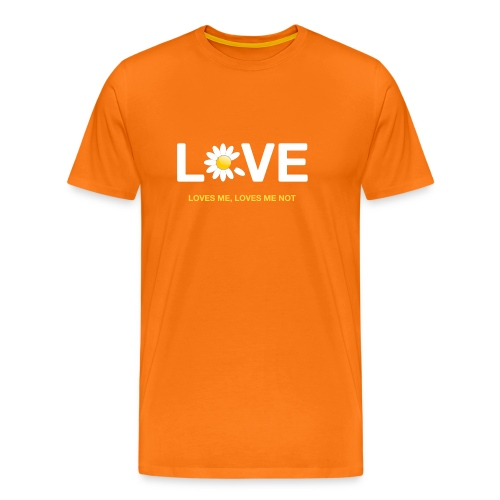 Loves me Loves me not - Men's Premium T-Shirt