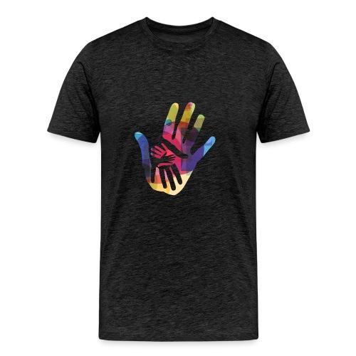 logo_storien - Premium T-skjorte for menn