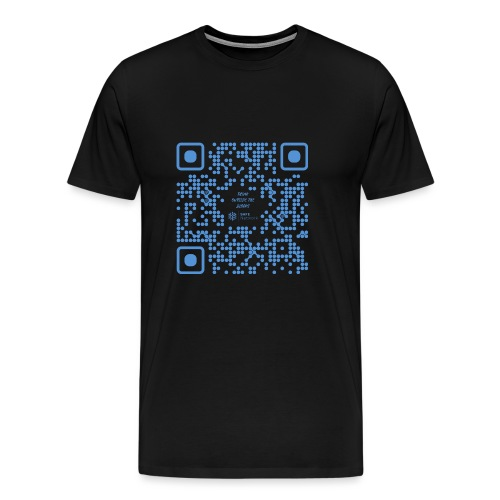 QR The New Internet Shouldn t Be Blockchain Based - Men's Premium T-Shirt