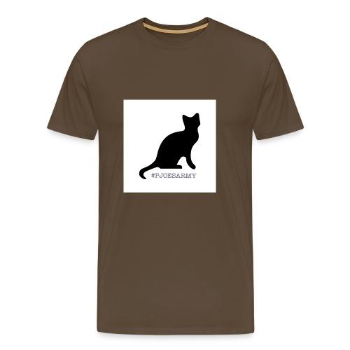 #pjoesarmy met poes - Mannen Premium T-shirt