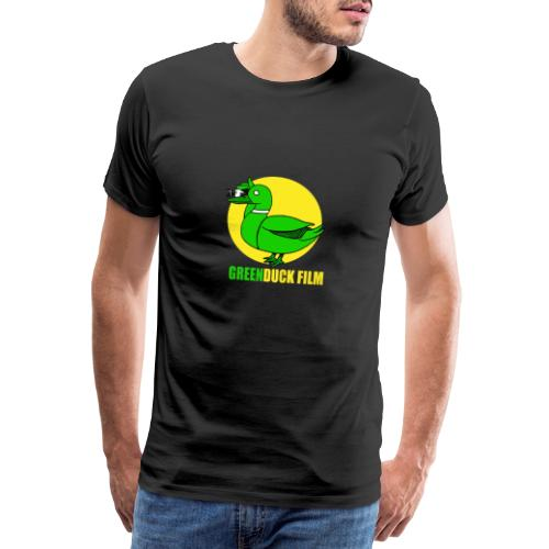 Greenduck Film In the Sun Logo - Herre premium T-shirt