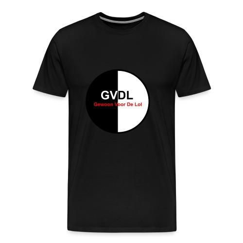 GVDL Logo - Mannen Premium T-shirt
