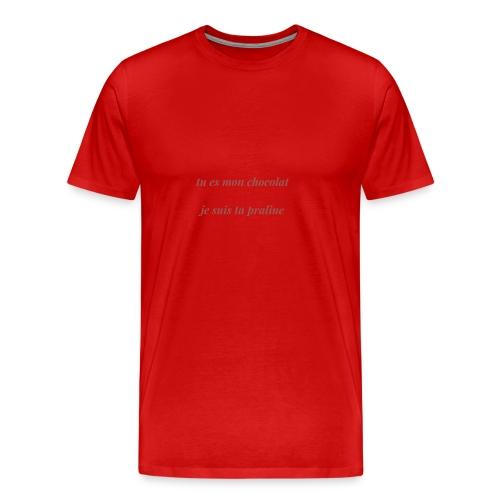 Tu es mon chocolat - T-shirt Premium Homme