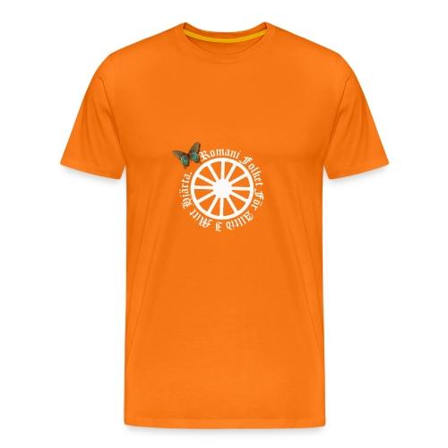 LennyhjulRomaniFolketivitfjerli - Premium-T-shirt herr