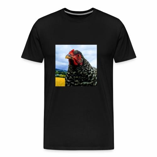 not so Curious chicken - Männer Premium T-Shirt