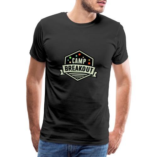Camp Breakout Logo 2018 - Männer Premium T-Shirt