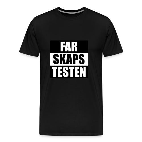 Farskapstesten - Premium T-skjorte for menn