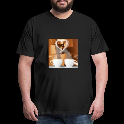 sticallbats coffee for two - Men's Premium T-Shirt