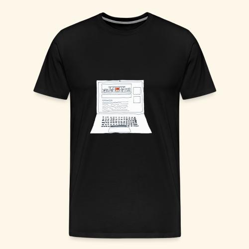 Laptop 20CENT Retail - T-shirt Premium Homme