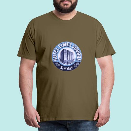 VINTAGE TIME SQUARE - T-shirt Premium Homme