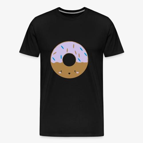 Doughnut Love Happy Fluffy Gift - Men's Premium T-Shirt
