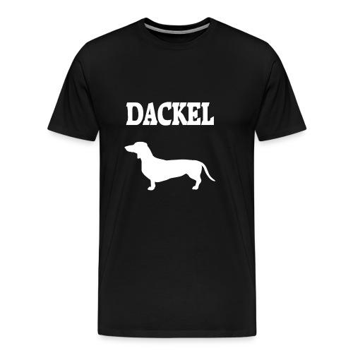 Dackel - Männer Premium T-Shirt