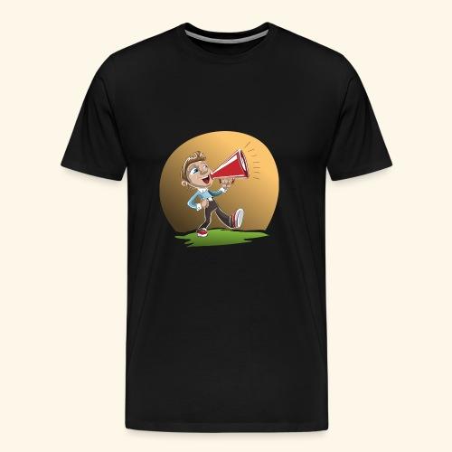 loud speaker - T-shirt Premium Homme