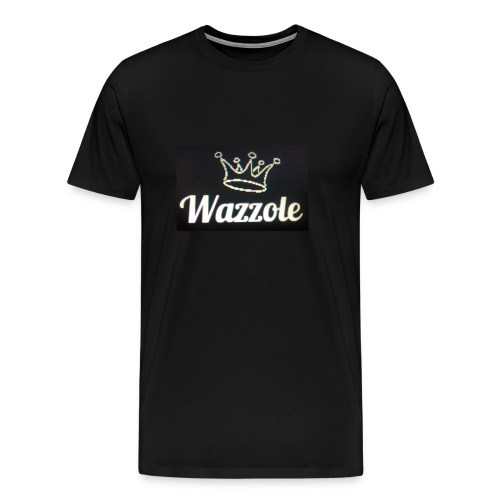 Wazzole crown range - Men's Premium T-Shirt