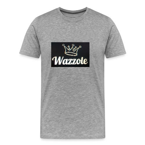 Wazzole crown range - Men's Premium T-Shirt