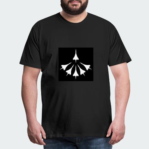 Concorde Fleet - Men's Premium T-Shirt