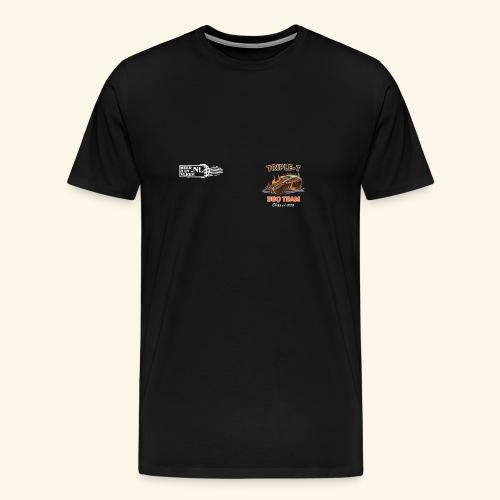 Triple T 2018 Front - Mannen Premium T-shirt