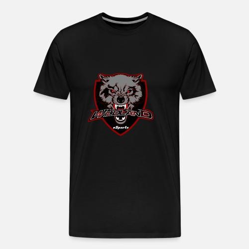 mascot Logo Widland eSports Club - Camiseta premium hombre