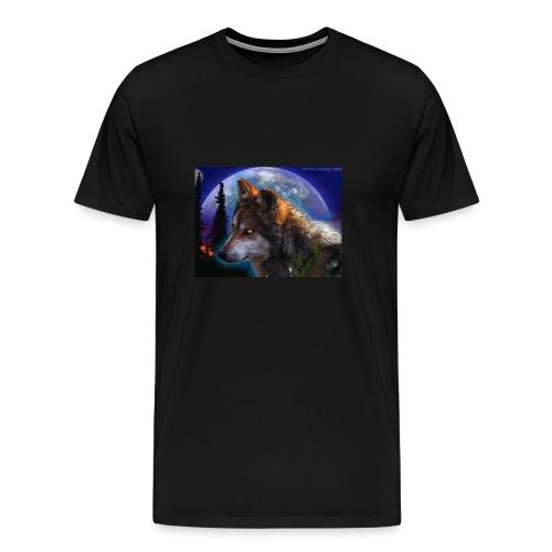 magnifique loup - T-shirt Premium Homme