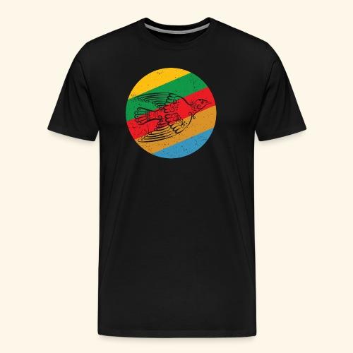 Grenadian Dove Retro - Men's Premium T-Shirt