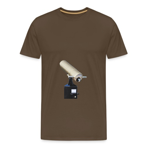 fernglas fernrohr fokus teleskop hinkucker - Männer Premium T-Shirt
