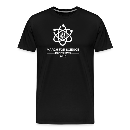 March for Science København 2018 - Men's Premium T-Shirt