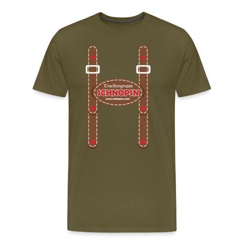 trachtengruppe schnopsn - Männer Premium T-Shirt