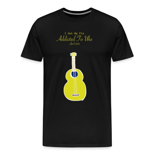 Addicted To Uke Spring 2018 Souvenir - Men's Premium T-Shirt