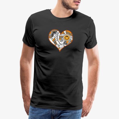 In my heart - Men's Premium T-Shirt