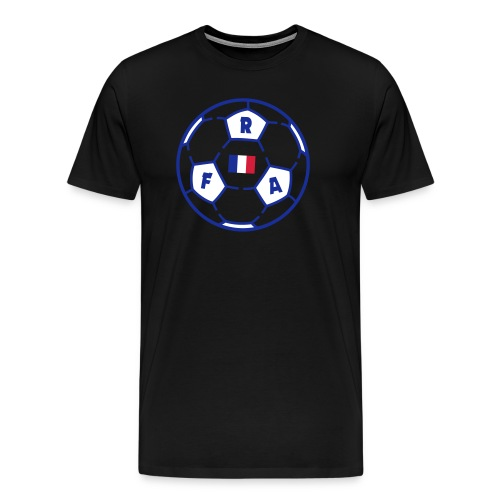 Ballon foot FRANCE v2 (VECT) - T-shirt Premium Homme