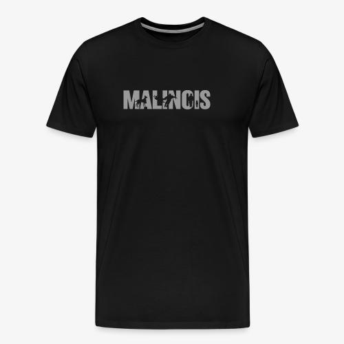 malinois gray - Koszulka męska Premium