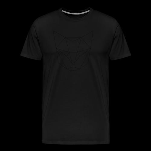 Cat head - T-shirt Premium Homme