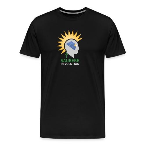 Saubere Revolution mit erneuerbarer Energie! - Männer Premium T-Shirt