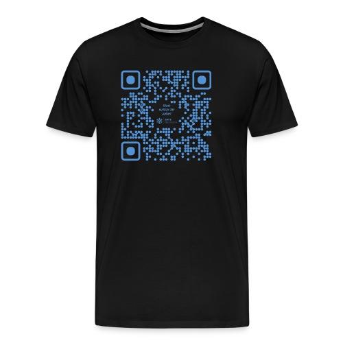 QR The New Internet Shouldn t Be Blockchain Based - Men's Premium T-Shirt