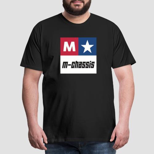 M-Chassis white - Männer Premium T-Shirt