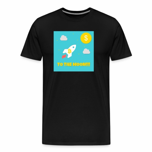 TO THE MOON COLLECTION - Männer Premium T-Shirt