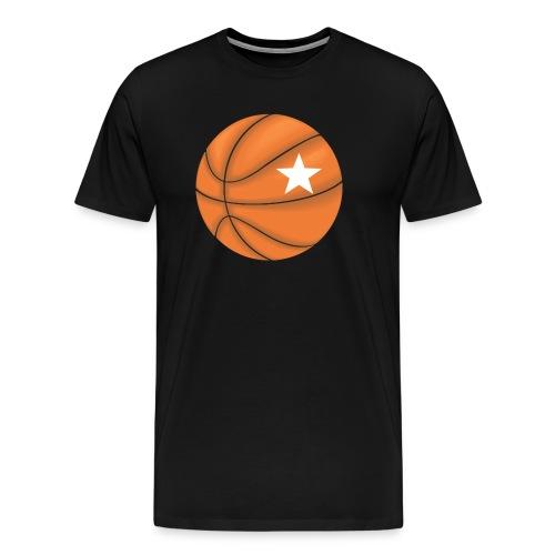 Basketball Star - Mannen Premium T-shirt