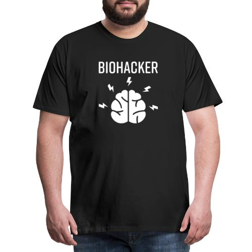 Biohacker Biohacking Geschenk Lifestyle Keto Shirt - Männer Premium T-Shirt