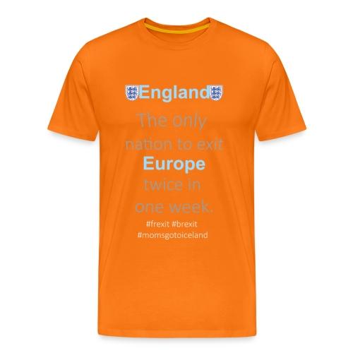 england png - Men's Premium T-Shirt