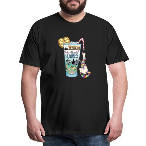 Du Rhum et des Licornes ! - T-shirt Premium Homme