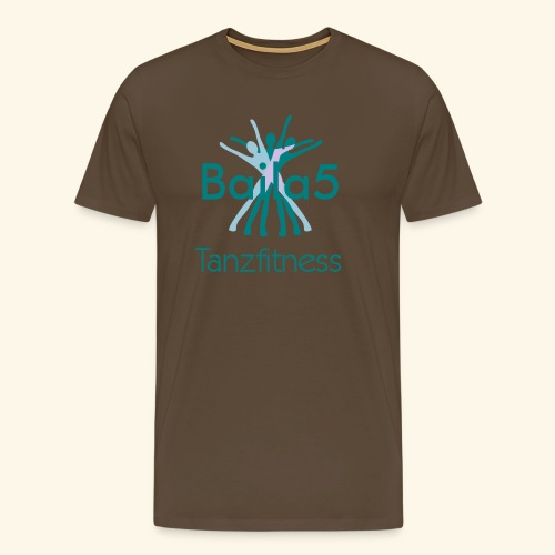 Baila5 Tanzfitness - Männer Premium T-Shirt