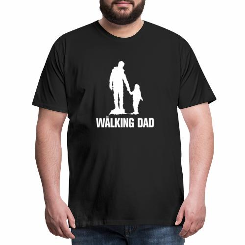 Walking Dad, Rahmen - Männer Premium T-Shirt