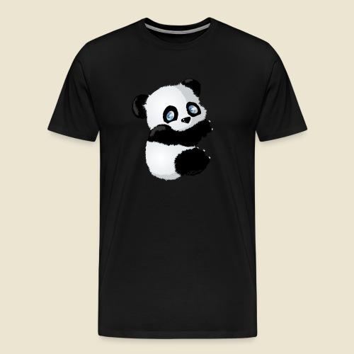 Bébé Panda - T-shirt Premium Homme