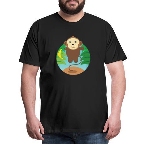 Banana Monkey - Männer Premium T-Shirt
