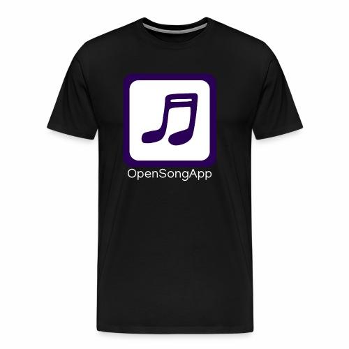 OpenSongApp Square Text - Men's Premium T-Shirt
