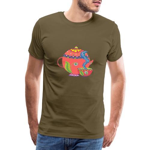 L'heure du thé - T-shirt Premium Homme