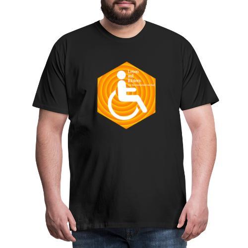 Logo Leben auf Rädern - Männer Premium T-Shirt